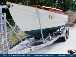 Sailboat Trailer For Sale >> Custom Sailboat Trailers 25ft To 30ft Triad Trailers